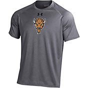 Under Armour Men's Marshall Thundering Herd Grey Tech Performance T-Shirt