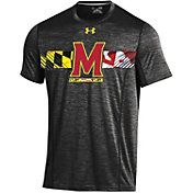 Under Armour Men's Maryland Terrapins Black Training T-Shirt