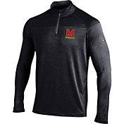 Under Armour Men's Maryland Terrapins Black Quarter-Zip Shirt