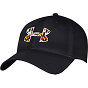 Under Armour Men's Maryland Terrapins Grey Maryland Pride Flexfit Hat