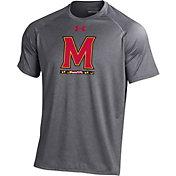 Under Armour Men's Maryland Terrapins Grey Tech T-Shirt