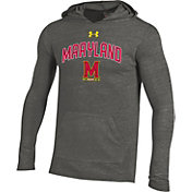 Under Armour Men's Maryland Terrapins Grey Tri-Blend Hoodie