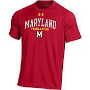 Under Armour Men's Maryland Terrapins Red Performance T-Shirt