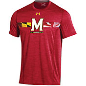 Under Armour Men's Maryland Terrapins Red Training T-Shirt