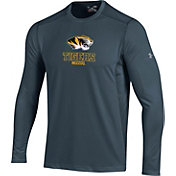 Under Armour Men's Missouri Tigers Raid Performance Long Sleeve Grey T-Shirt