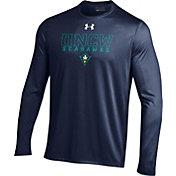 Under Armour Men's UNC-Wilmington  Seahawks Blue Long Sleeve Tech T-Shirt