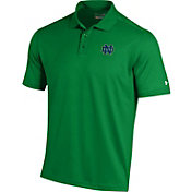 Under Armour Men's Notre Dame Fighting Irish Green Performance Polo