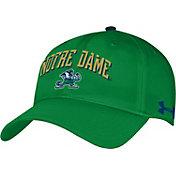 Under Armour Men's Notre Dame Fighting Irish Green Renegade Adjustable Hat