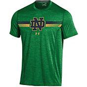 Under Armour Men's Notre Dame Fighting Irish Green Training T-Shirt