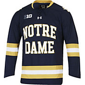 Under Armour Men's Notre Dame Fighting Irish Navy Replica Hockey Jersey