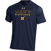 Under Armour Men's Navy Midshipmen Navy Tech T-Shirt