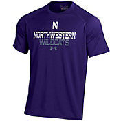 Under Armour Men's Northwestern Wildcats Purple Performance Tech T-Shirt
