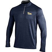 Under Armour Men's Pitt Panthers Blue Quarter-Zip Shirt