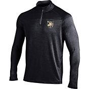 Under Armour Men's Army West Point Black Knights Army Black UA Tech Tonal Twist Quarter-Zip Shirt