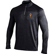 Under Armour Men's Arizona State Sun Devils Black Quarter-Zip Shirt