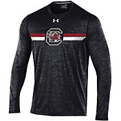 Under Armour Men's South Carolina Gamecocks Black Long Sleeve Training T-Shirt