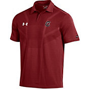 Under Armour Men's South Carolina Gamecocks Garnet Tour Polo