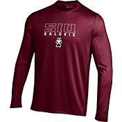 Under Armour Men's Southern Illinois  Salukis Maroon UA Tech Performance Long Sleeve Shirt