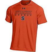 Under Armour Men's Syracuse Orange Orange Tech T-Shirt