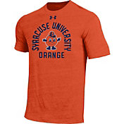 Under Armour Men's Syracuse Orange Orange Tri-Blend T-Shirt