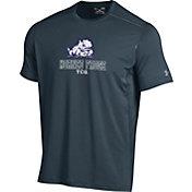 Under Armour Men's TCU Horned Frogs Grey Raid T-Shirt