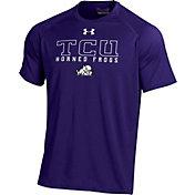 Under Armour Men's TCU Horned Frogs Purple Tech T-Shirt