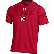 Under Armour Men's Utah Utes Crimson Tech T-Shirt