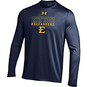 Under Armour Men's East Tennessee State Buccaneers Navy Long Sleeve Tech T-Shirt