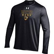 Under Armour Men's VCU Rams Black Long Sleeve Tech T-Shirt