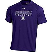 Under Armour Men's Weber State Wildcats Purple Tech T-Shirt