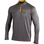 Under Armour Men's Wichita State Shockers Grey UA Tech Tonal Twist Quarter-Zip Shirt