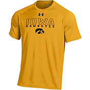 Under Armour Men's Iowa Hawkeyes Gold Tech T-Shirt