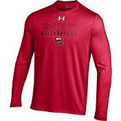 Under Armour Men's Western Kentucky  Hilltoppers Red Long Sleeve Tech T-Shirt