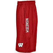 Under Armour Men's Wisconsin Badgers Red Raid Shorts