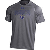 Under Armour Men's Washington Huskies Grey Tech T-Shirt