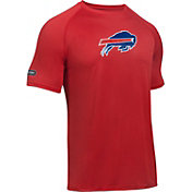 Under Armour NFL Combine Authentic Men's Buffalo Bills Logo Red Tech Performance T-Shirt