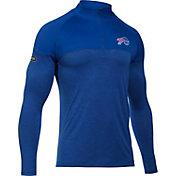 Under Armour NFL Combine Authentic Men's Buffalo Bills Tech Novelty Royal Quarter-Zip Pullover