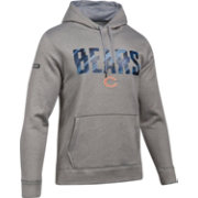 Under Armour NFL Combine Authentic Men's Chicago Bears Armour Fleece Grey Hoodie