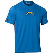 Under Armour NFL Combine Authentic Men's Los Angeles Chargers Logo Blue Tech Performance T-Shirt