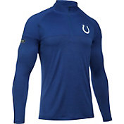 Under Armour NFL Combine Authentic Men's Indianapolis Colts Tech Novelty Blue Quarter-Zip Pullover