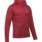 Under Armour NFL Combine Authentic Men's Arizona Cardinals Armour Fleece Red Full-Zip Hoodie