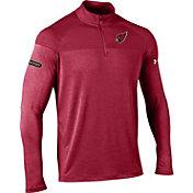 Under Armour NFL Combine Authentic Men's Arizona Cardinals Tech Novelty Red Quarter-Zip Pullover