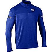 Under Armour NFL Combine Authentic Men's New York Giants Tech Novelty Royal Quarter-Zip Pullover
