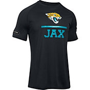 Under Armour NFL Combine Authentic Men's Jacksonville Jaguars Lockup Logo Tech Black T-Shirt
