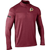 Under Armour NFL Combine Authentic Men's Washington Redskins Tech Novelty Red Quarter-Zip Pullover