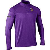 Under Armour NFL Combine Authentic Men's Minnesota Vikings Tech Novelty Purple Quarter-Zip Pullover