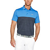 Under Armour Men's Playoff Blocked Golf Polo