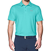 Under Armour Men's Playoff Pencil Stripe Golf Polo