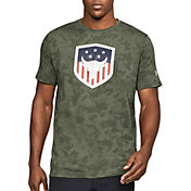 Under Armour Men's Project Rock Bull Shield Graphic T-Shirt