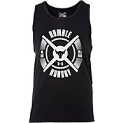 Under Armour Men's Project Rock Humble And Hungry Graphic Sleeveless Shirt